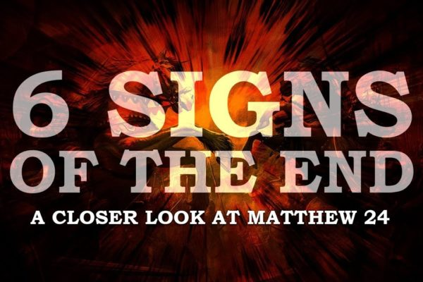 Sermon: 6 Signs of the End (Thumbnail)
